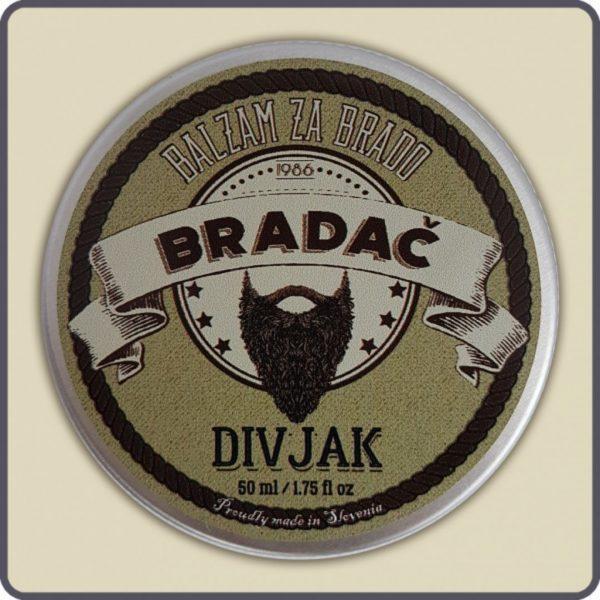 Balzam divjak za nego brade in brkov 1