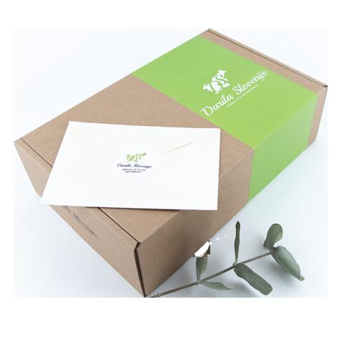 Kartonska darilna škatla darila Slovenije