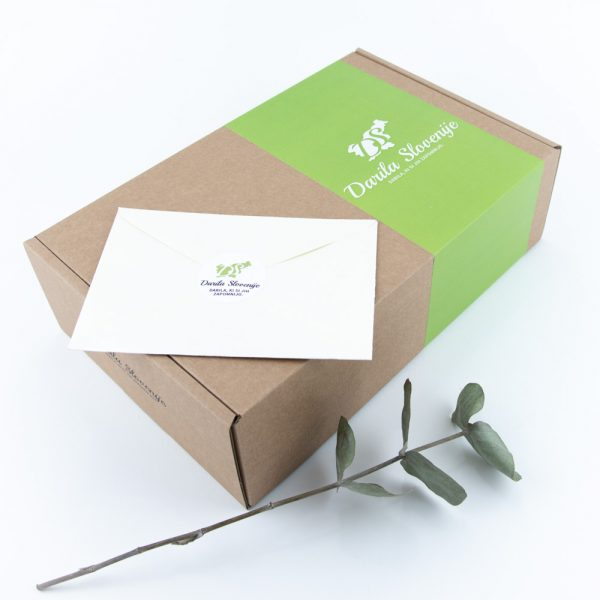 Darilna kartonska škatla darila slovenije