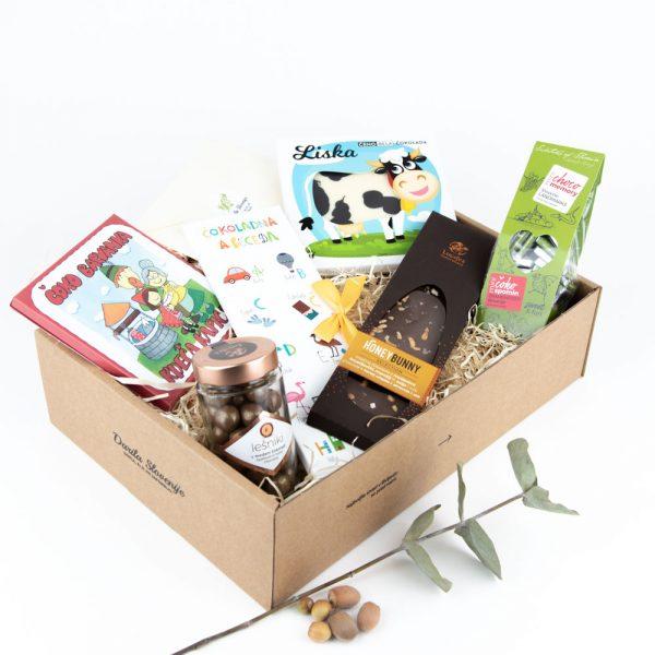 Darilni paket za male čokoholičarje - čokoladni paket