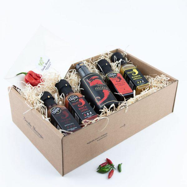 Kartonska darilna škatla čiliji darila slovenije