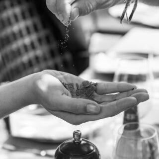 Himalajska sol s tartufom v mlinčku - 100g
