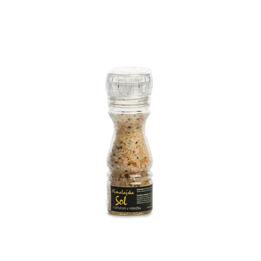 Himalajska sol s tartufom v mlinčku 100g