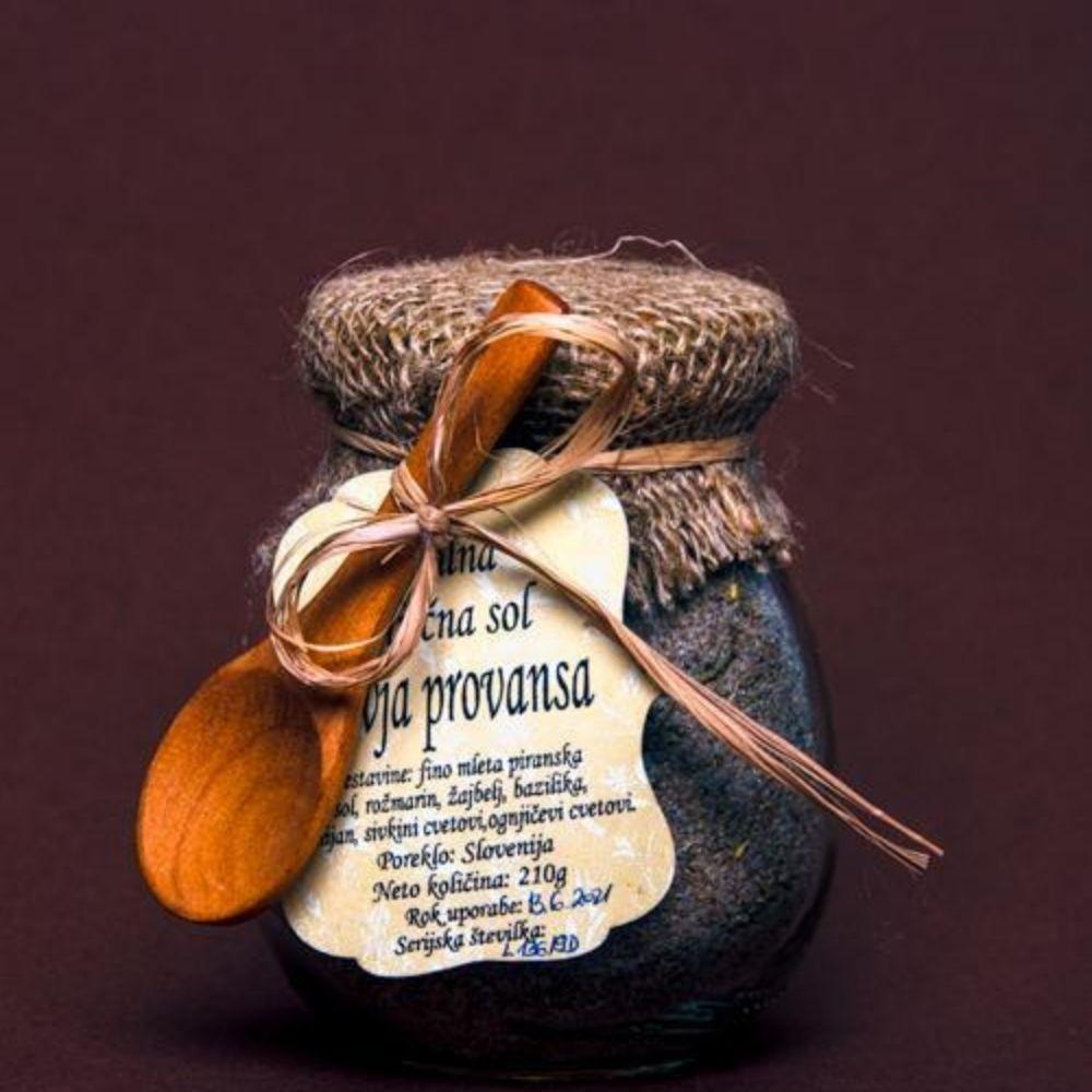 Jedilna zeliščna sol divja Provansa