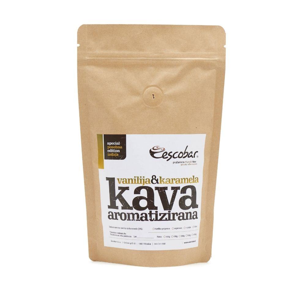 Aromatizirana kava vanilija karamela 100g