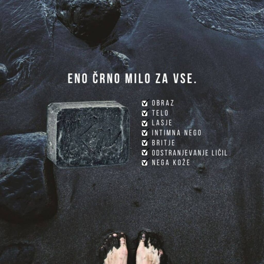 milo-črno