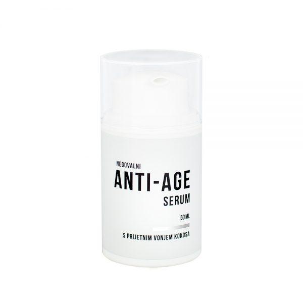 Naravna krema za obraz anti age serum