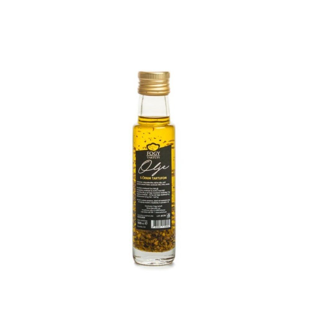 Oljčno olje s koščki črnega tartufa 100ml