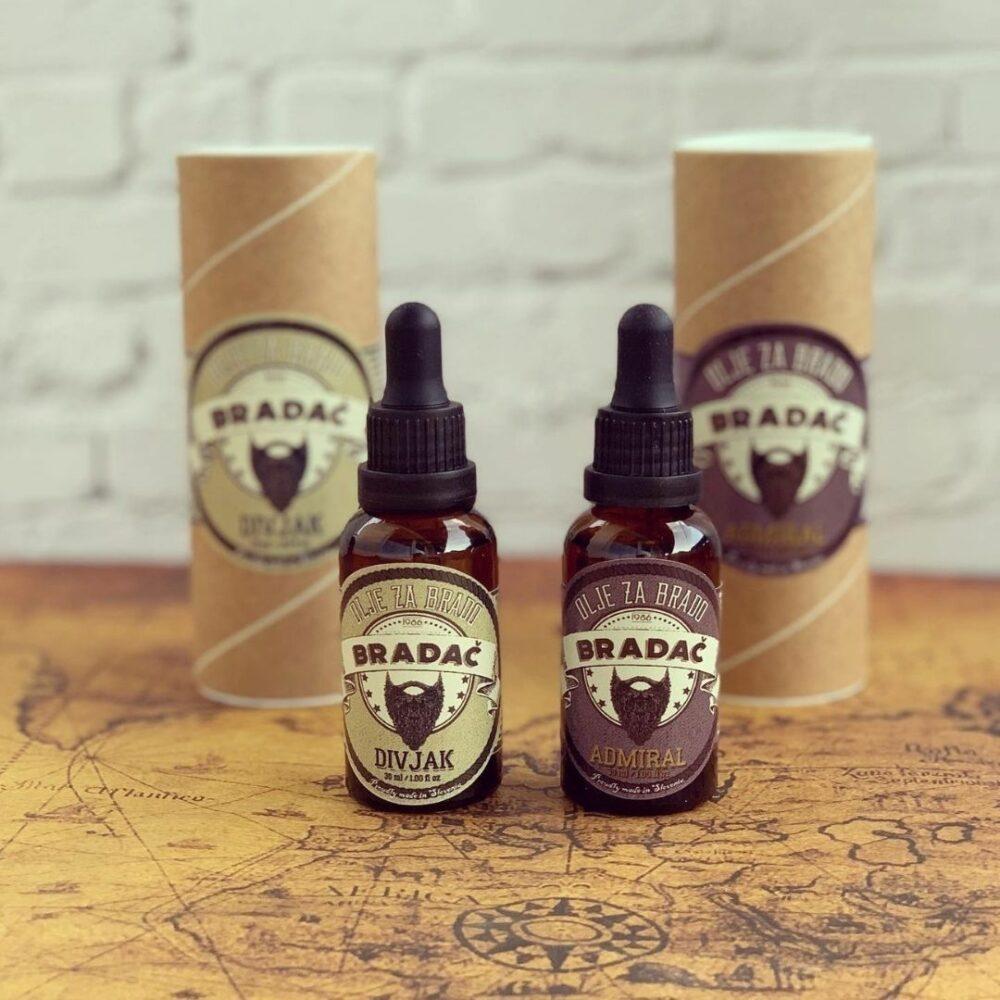 Olje za brado in brke