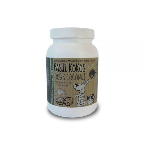 Pasji kokos zdrav pes