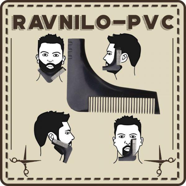 Ravnilo za nego brade in brkov