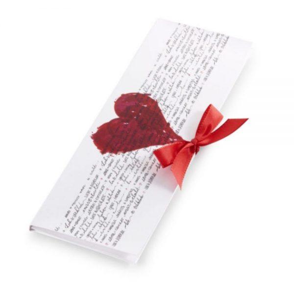 Srce čokoladno pismo izreki ljubezni slovenska čokolada