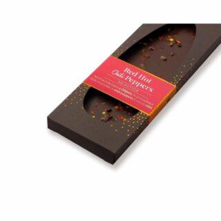 temna čokolada s čilijem in kakavovimi zrni