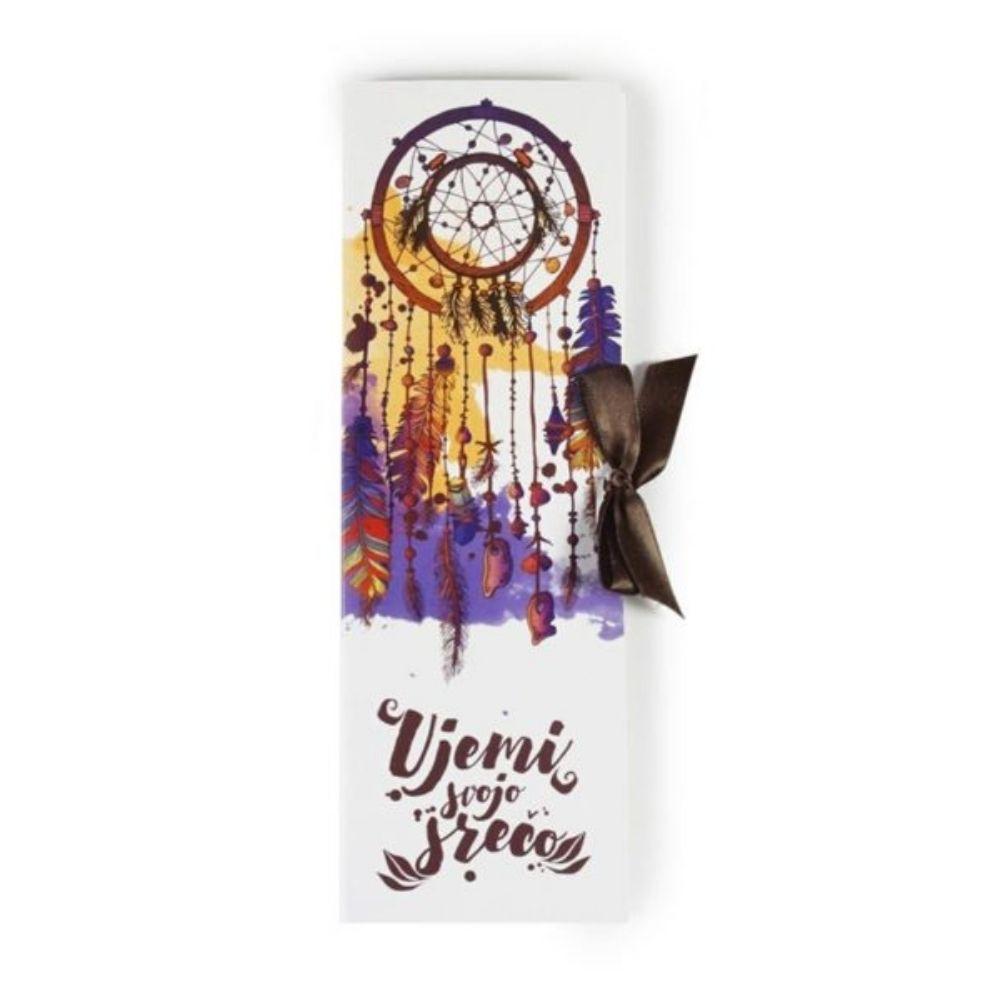Temna čokolada čokoladne tablice ujemi svojo srečo čokoladna darila