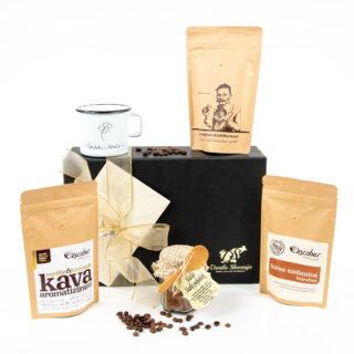 Darilni paket naj zadiši po kavi