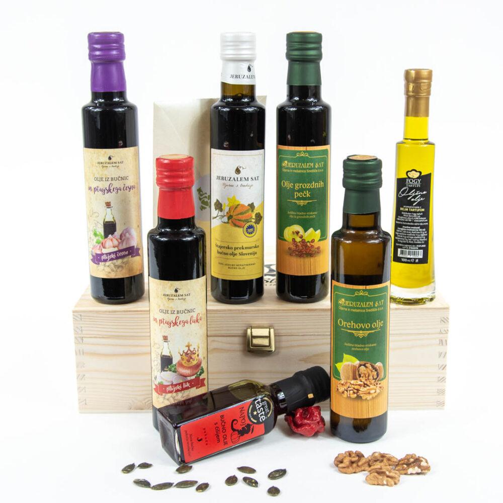 Olja za okusne gurmanske užitke