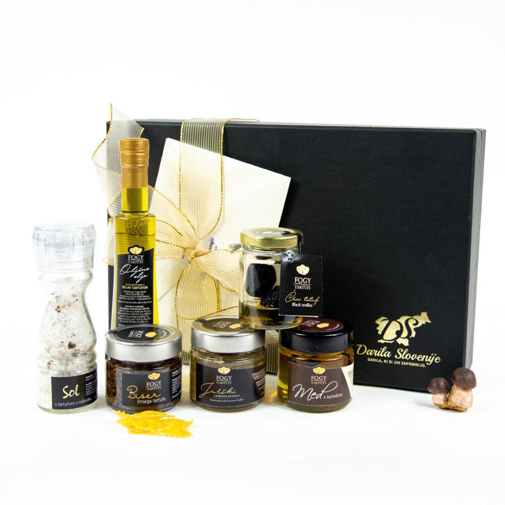 Darilni paket za ljubitelje tartufov
