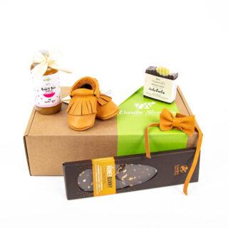 Darilni paket škatlica sreče ob rojstvu fantka 1