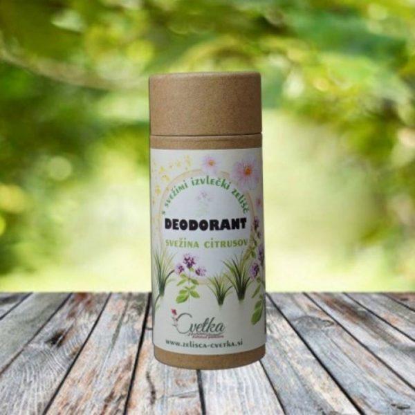 Deodorant naravni svežina citrusov