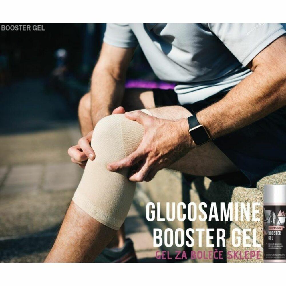 GLUCOSAMINE BOOSTER GEL - 150ml (odpravljanje bolečin v sklepih in hrustancu)