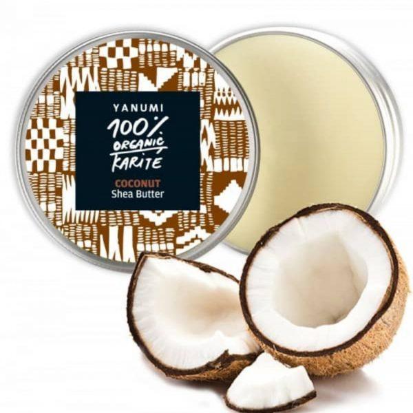 Karitejevo maslo s kokosom 100% naravno