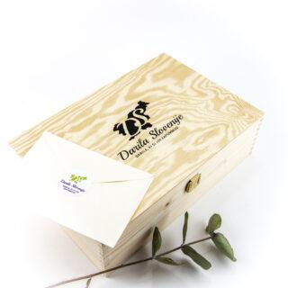 Darilna lesena škatla