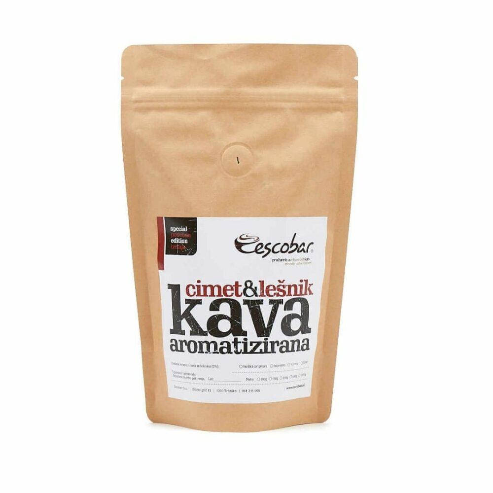 Aromatizirana kava cimet lešnik 100g