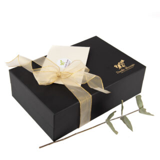 ČRNA darilna škatla - 320x210x95