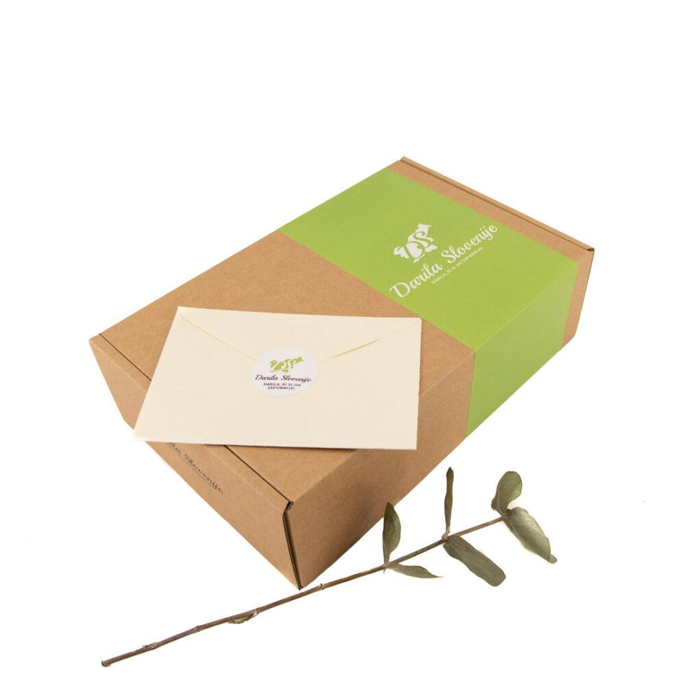 KARTONSKA darilna škatla - 320x210x95