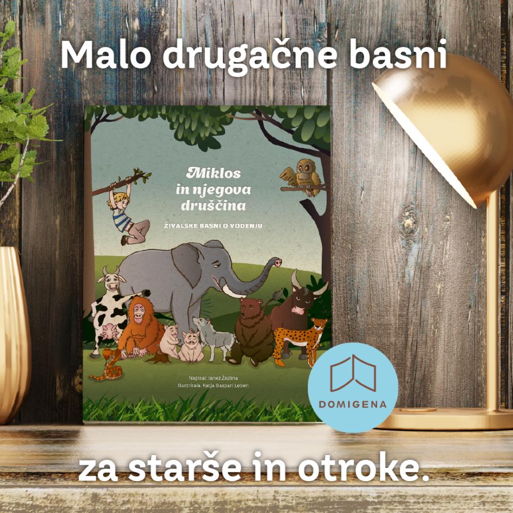 Miklos in njegova druščina živalske basni o vodenju