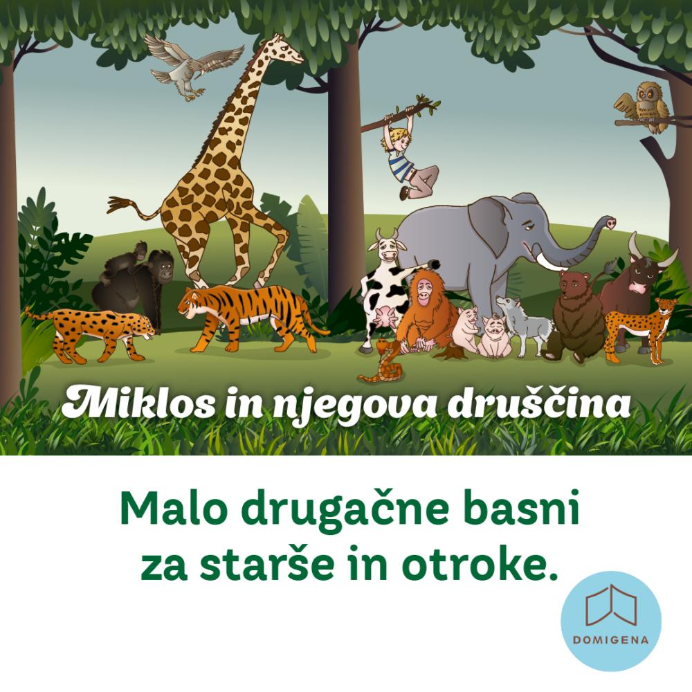Miklos in njegova druščina živalske basni o vodenju 2