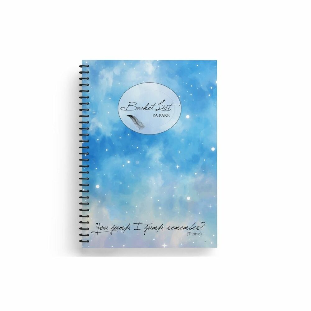BucketList - dnevnik - za poglobljen odnos in zabavo