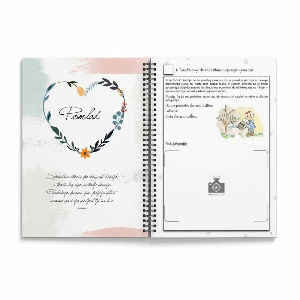 BucketList - dnevnik - zakladnica idej za vaša doživetja 2