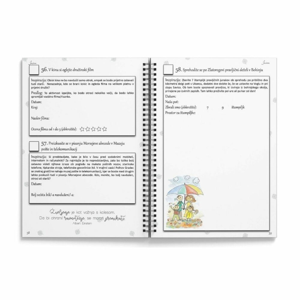 BucketList - dnevnik - zakladnica idej za vaša doživetja 4