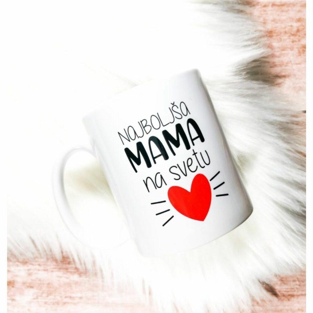 Keramična skodelica – Najboljša mami na svetu