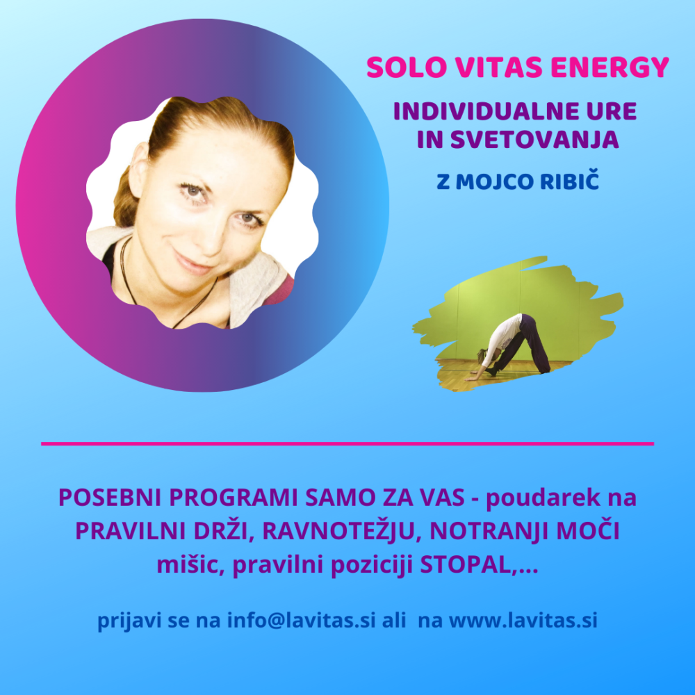 Individualno svetovanje solo vitas energy