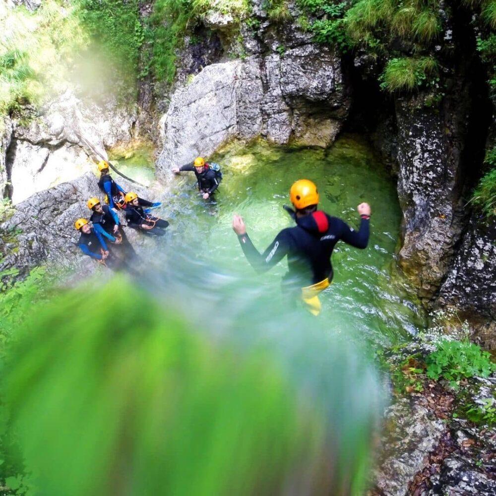 Kanjoning Bohinj