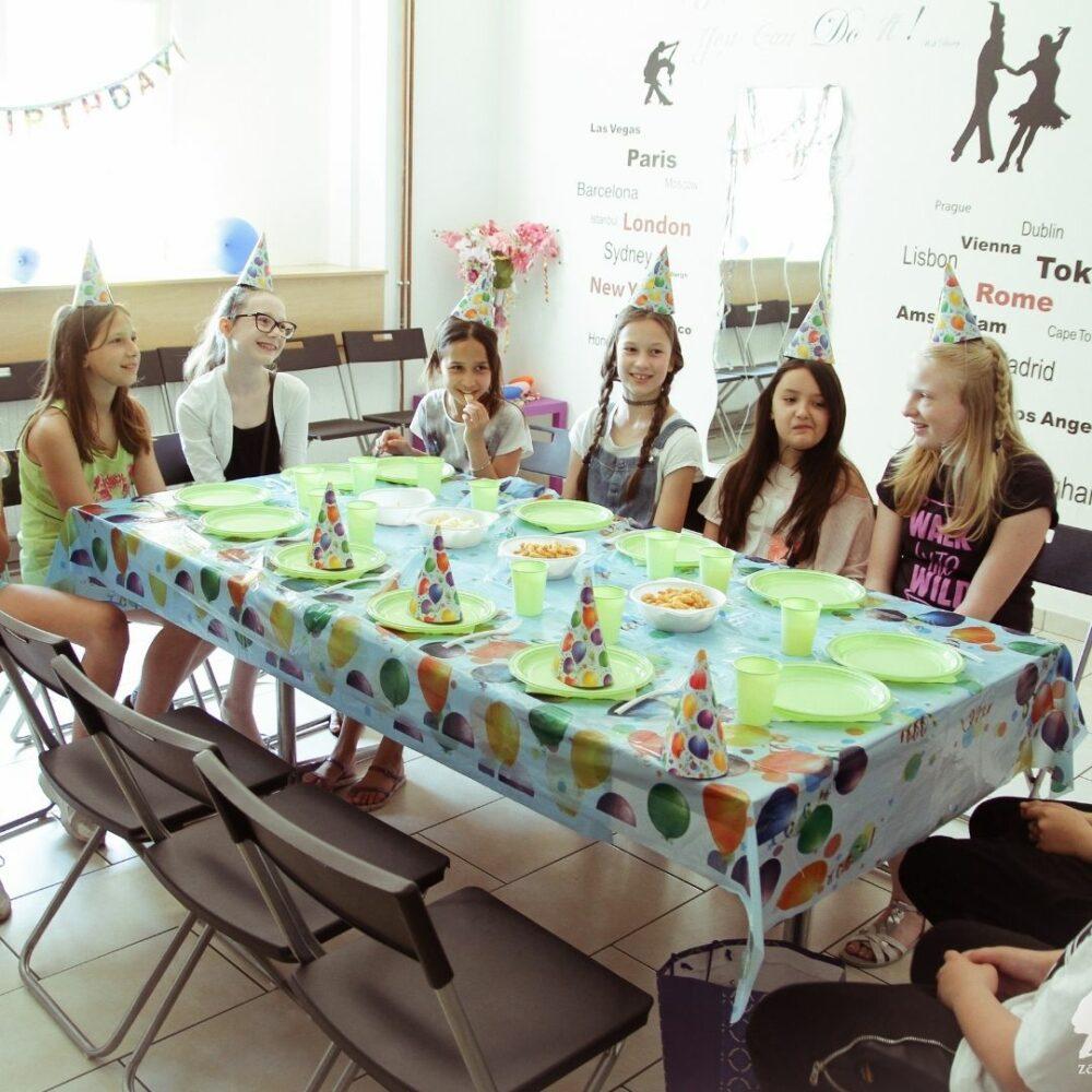 Praznovanje otroškega rojstnega dne – Plesni center Samba (Maribor)